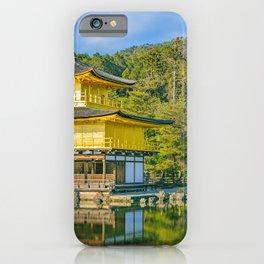 Kinkakuji Golden Pavilion, Kyoto, Japan iPhone Case