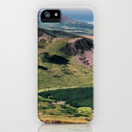 Snowdon Moutain View iPhone Case