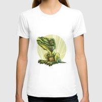 dinosaur T-shirts featuring Dinosaur by SansArt