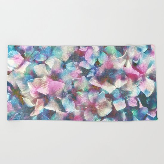 You are the beat of my heart Beach Towel