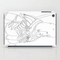 skyrim iPad Cases featuring Skyrim Armor outline by J.A.C