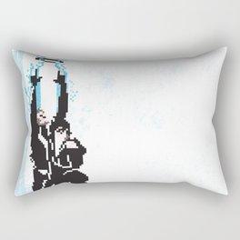 8 Bit Tron: Legacy Rectangular Pillow