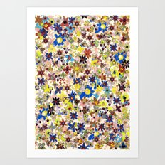Flower Filed Art Print