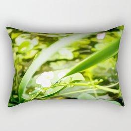 Flower Art Five Rectangular Pillow