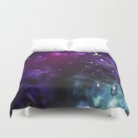 avatar Duvet Covers featuring the avatar state by Chiaris
