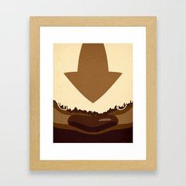 Sky Bison Framed Art Print