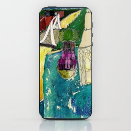 Tourism of the future iPhone Skin