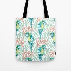Tropical Pastels Tote Bag
