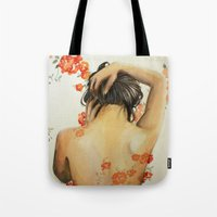 wallet Tote Bags featuring Blend In by Madelyne Joan Templeton