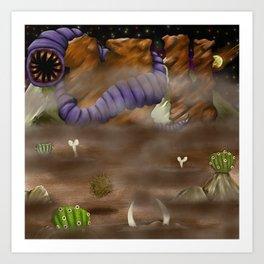 Beware the Desert Art Print