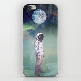 Moon Balloon iPhone Skin
