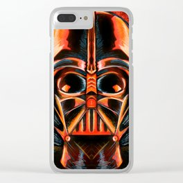 Dark Lord of Evil Clear iPhone Case