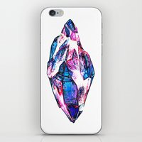 mineral iPhone & iPod Skins featuring Mineral by arnedayan