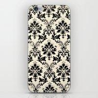 damask iPhone & iPod Skins featuring Damask by MJ Lira Photography