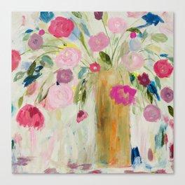 Friendship Blooms Canvas Print