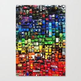 gridlock spectrum  Canvas Print