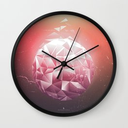 FRAGMENTATION Wall Clock