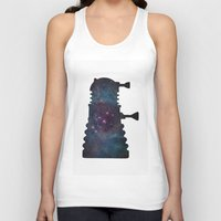 dalek Tank Tops featuring Dalek  by Edna Andrade