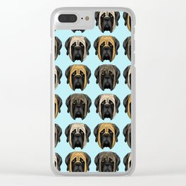 Mastiff Trio Clear iPhone Case