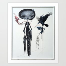 gothic kebaya Art Print