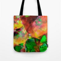chaos Tote Bags featuring Chaos by Ray Cowie