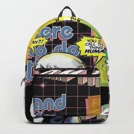 Facebook wont let me show my face Backpack