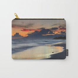 Magic red clouds. Sea dreams Carry-All Pouch