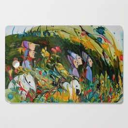 Hunting Party Cutting Board