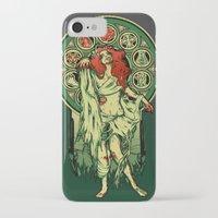 nouveau iPhone & iPod Cases featuring Zombie Nouveau by Megan Lara