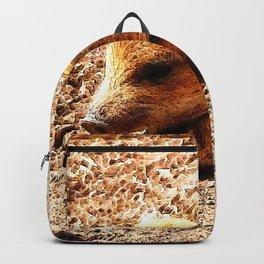 CArt wild boar baby Backpack