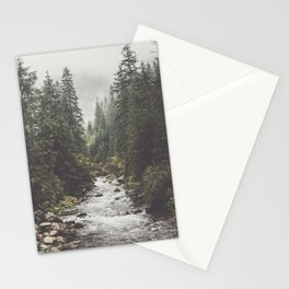 Mountain creek - Landscape and Nature Photography Stationery Cards