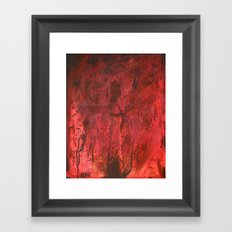 This is my blood of the covenant, which is poured out for many for the forgiveness of sins. Framed Art Print
