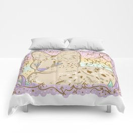 Pretty Little Serval Comforters