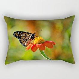 Monarch Butterfly #2 Rectangular Pillow