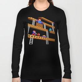 Inside Donkey Kong stage 2 Long Sleeve T-shirt