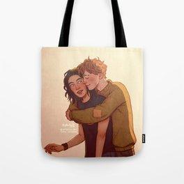 Surprise hug Tote Bag