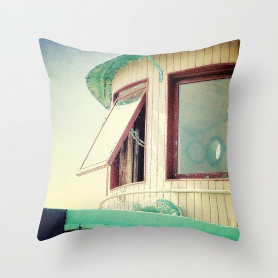 Miss Charlott II Throw Pillow