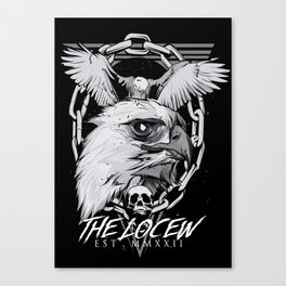 The eagle poster Canvas Print