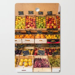 Groceries, Nice France Cutting Board