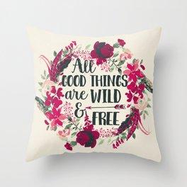 Sweet Sayings 2 Throw Pillow