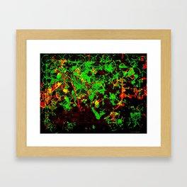 Chainlink Framed Art Print