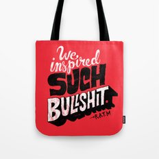 Inspired Bullshit Tote Bag