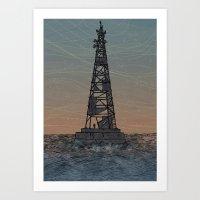 Signals Art Print