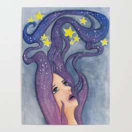 Galaxy Dreamer Poster
