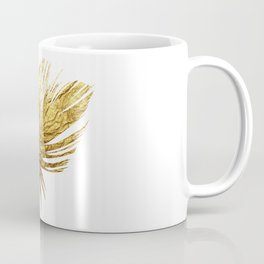 Golden Feather Coffee Mug