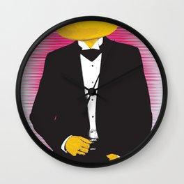 Lemonhead Wall Clock