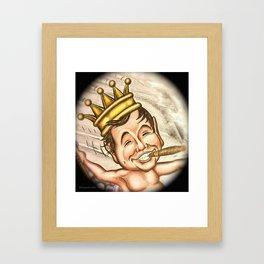 Billiken with Cigar Framed Art Print