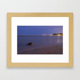 Sandgate Foreshore -002  Framed Art Print