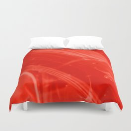 Strawberry Whole Food Syrup on My Mind! Duvet Cover