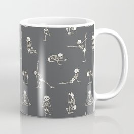 Skeleton Yoga_Gray Coffee Mug